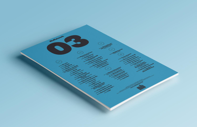 Muffatwerk Monatsprogramm und Plakat